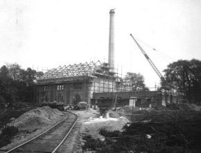 Langford Pumping Station - under construction